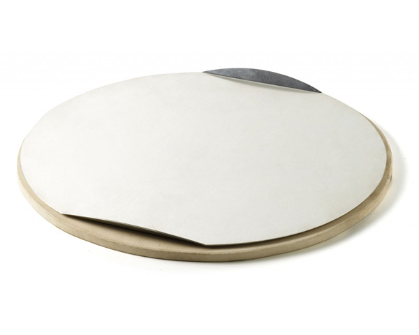 Weber 91125 36.5cm Large Q Pizza Stone and Tray